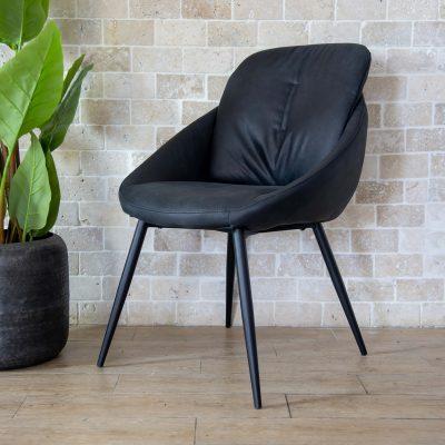 כיסא אוכל - PALLA שחור