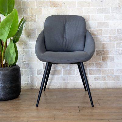 כיסא אוכל - PALLA אפור