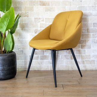 כיסא אוכל – PALLA צהוב