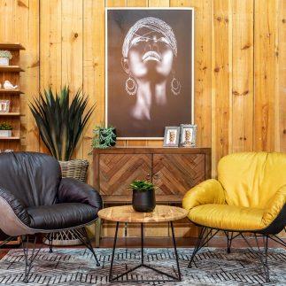 כורסא – DULCE צהוב