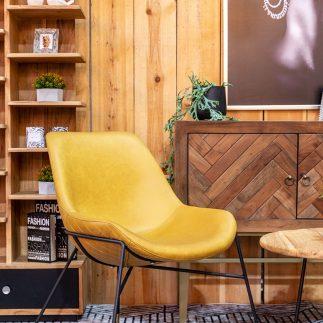כורסא – SORENTO צהוב