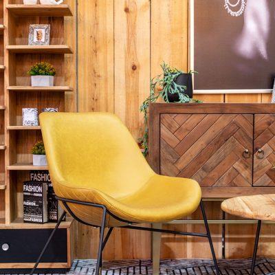כורסא - SORENTO צהוב