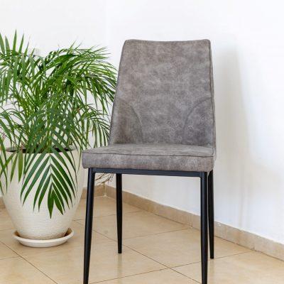 כיסא אוכל - BETTO אפור