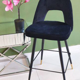 כיסא בר – LOTO שחור