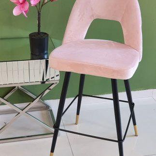 כיסא בר – LOTO ורוד