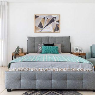 מיטה – ANN אפור בהיר