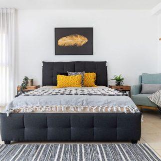 מיטה – ANN אפור כהה