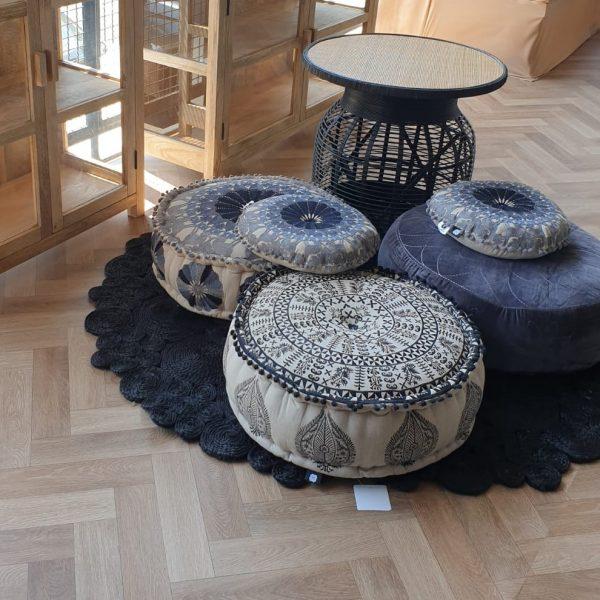 שטיח - HIPPIE שחור