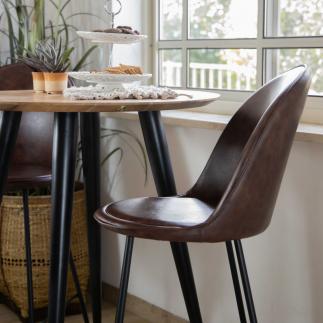 כיסא בר – OSLO חום