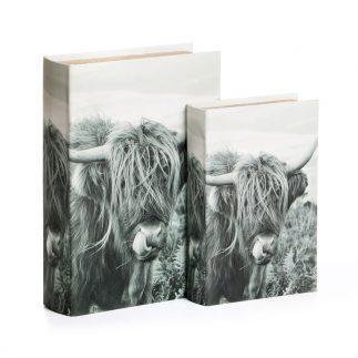 זוג ספרים לאחסון ונוי – BUFFALO