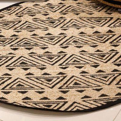 שטיח - BOOBOO עגול טבעי בינוני/גדול/ענק