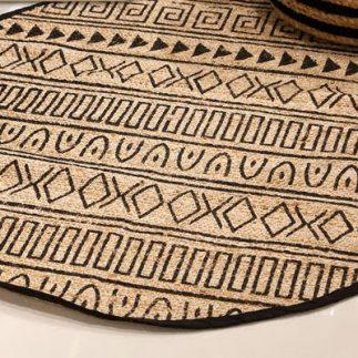 שטיח – BOOLY עגול טבעי בינוני/גדול/ענק