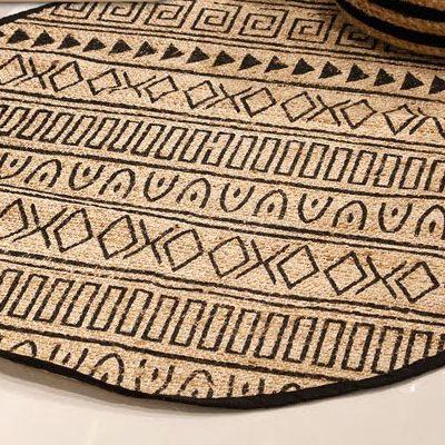 שטיח - BOOLY עגול טבעי בינוני/גדול/ענק