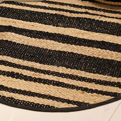 שטיח - BOOMY עגול טבעי בינוני/גדול/ענק