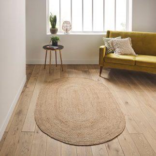 שטיח – ANINA אובלי טבעי