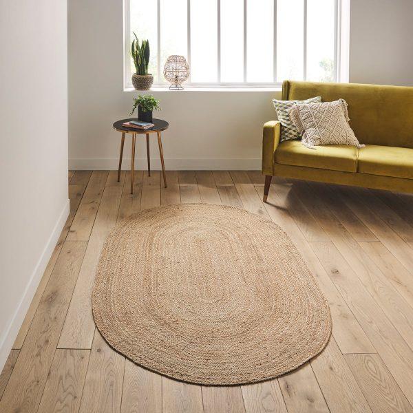 שטיח - ANINA אובלי טבעי