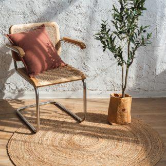 שטיח – ANINA עגול טבעי גדול/ענק