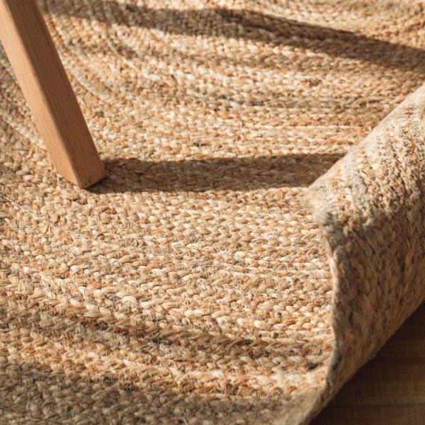 שטיח - ANINA עגול טבעי גדול/ענק