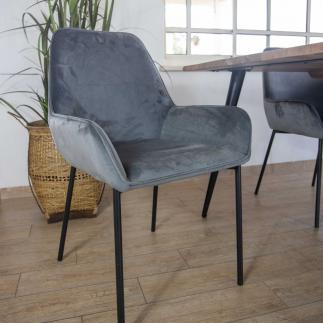כיסא – POLO אפור