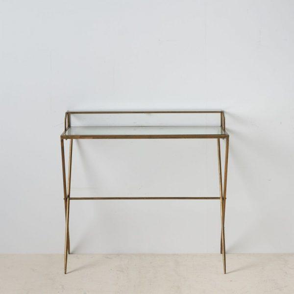 קונסולה / שולחן כתיבה - HOMEWORK זהב
