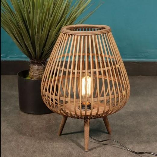 מנורה שולחנית - BAMBOO טבעי