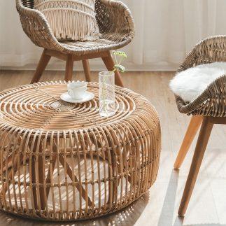שולחן – HANOI בהיר גדול/בינוני