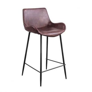 כיסא בר – CHESTER חום