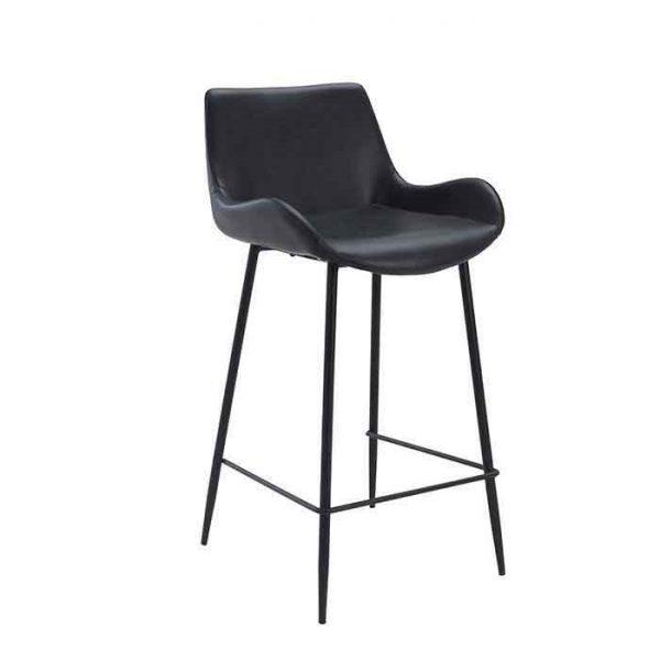 כיסא בר - CHESTER שחור