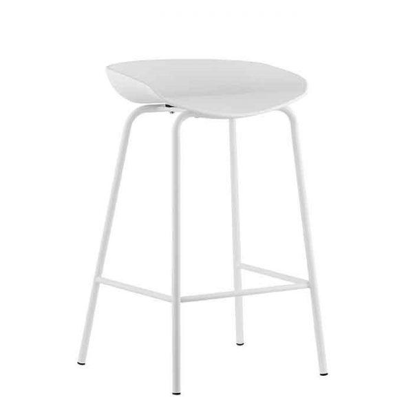 כיסא בר - NIRO לבן