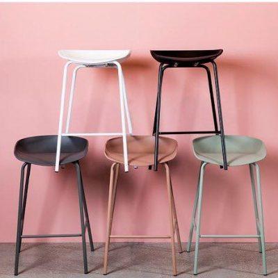 כיסא בר - NIRO אפור