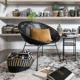 כורסא – CIRCULO שחור
