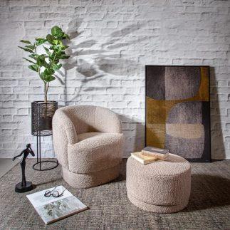 כורסא – SHEEPY עם הדום/ללא הדום