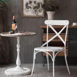 כיסא – ROSTO לבן
