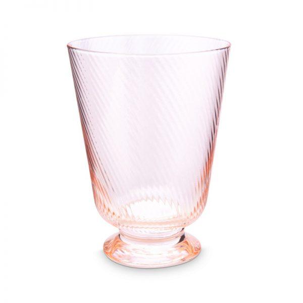 6 כוסות מים ורודות  - JOLIE