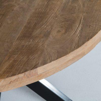 שולחן אוכל - RANGO עגול גדול/קטן