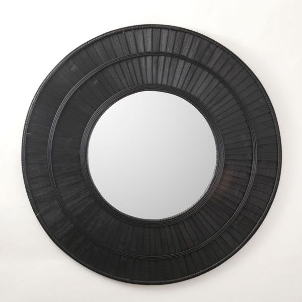 מראת ראטן 1113 טבעי/שחור