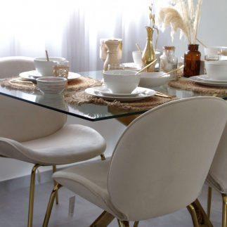 כיסא אוכל – VIVI שמנת