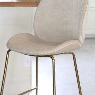 כיסא בר – VIVI שמנת