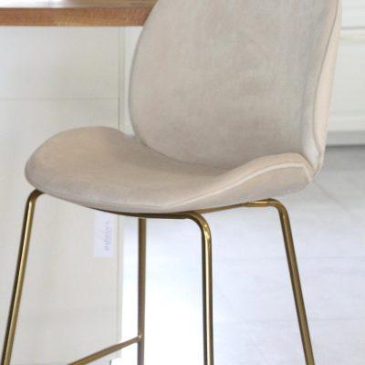כיסא בר - VIVI שמנת