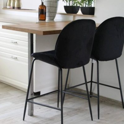 כיסא בר - VIVA שחור