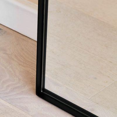 מראה מלבנית - ANNA שחור