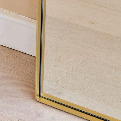 מראה מלבנית - ANNA זהב
