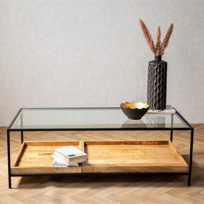 שולחן - A&B שחור