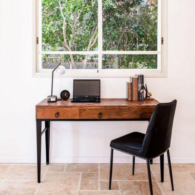 קונסולה/שולחן עבודה - KOKO רגלים שחורות גדול/קטן