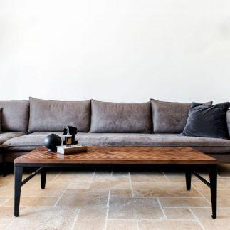 שולחן  – KOKO רגליים שחורות