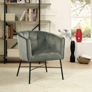 כורסא מעוצבת – YOKO אפור