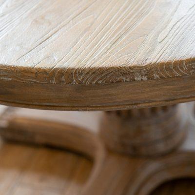 שולחן אוכל כפרי מעץ מלא- RESTO