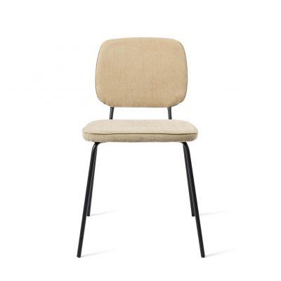 כיסא בד בשילוב מתכת - ROY בז'