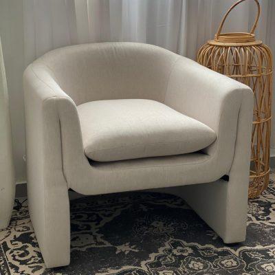 כורסא מודרנית בצבע שמנת - IDOL