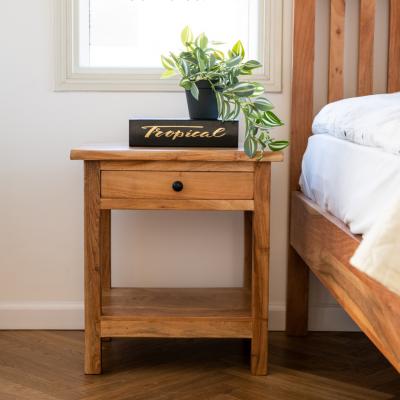 שידה לחדר שינה מעץ שיטה - SIERA